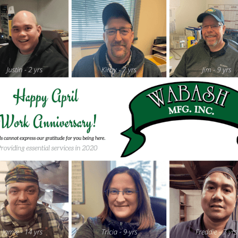 April 2020 Work Anniversaries