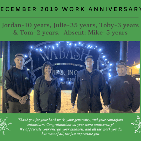 Dec 2019 Work Anniversary