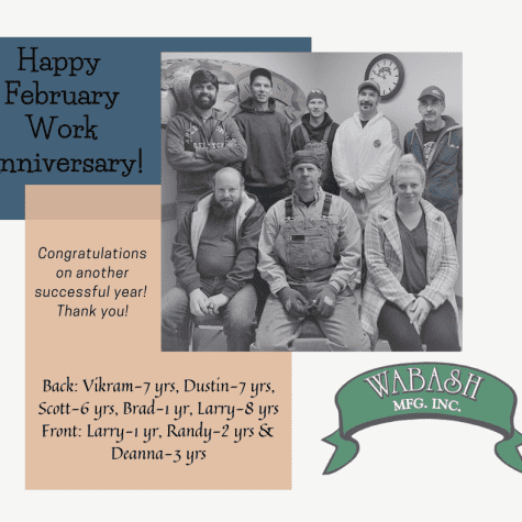 Feb 2020 Work Anniversaries