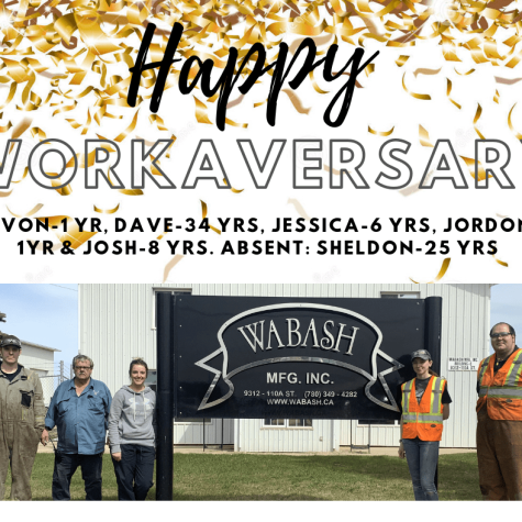 Happy May 2019 Work Anniversary!