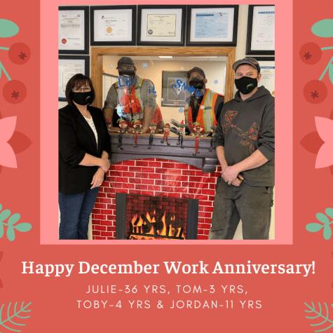 Happy December Work Anniversary!