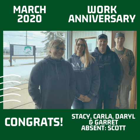 March 2020 Work Anniversaries