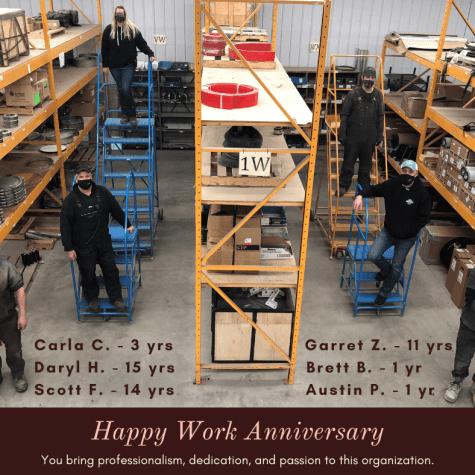 March work anniversary