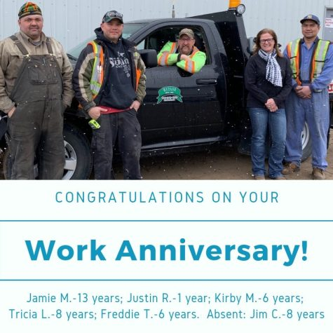 Work Anniversary Apr 2019