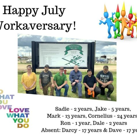 July 2019 Work Anniversary