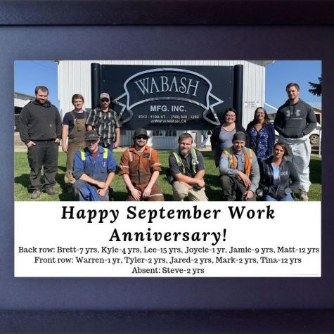 Sept 2019 Work Anniversary