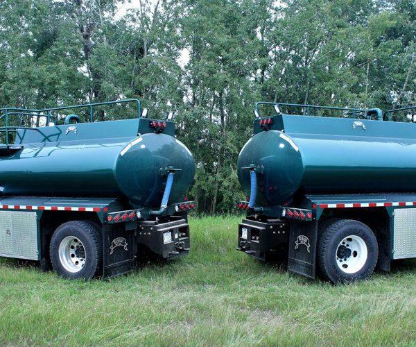 Twin Fuel Trucks