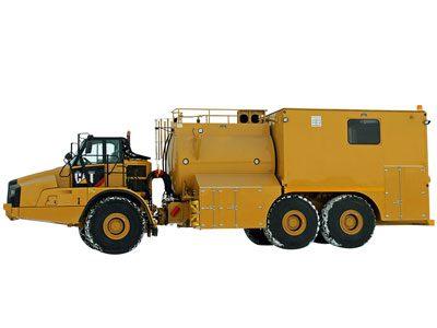 Articulating Fuel/Lube Unit