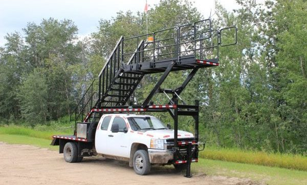 Mobile Staircase Truck