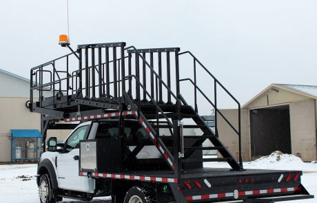 Custom Mobile Staircase Truck