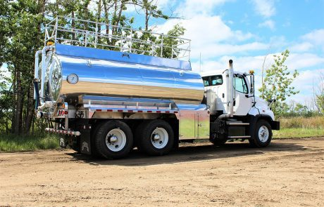 Stainless Steel Water Truck