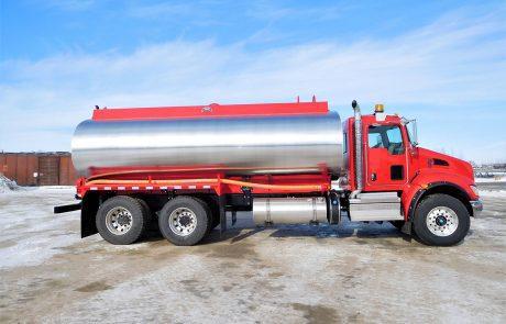 Aluminum Water Truck