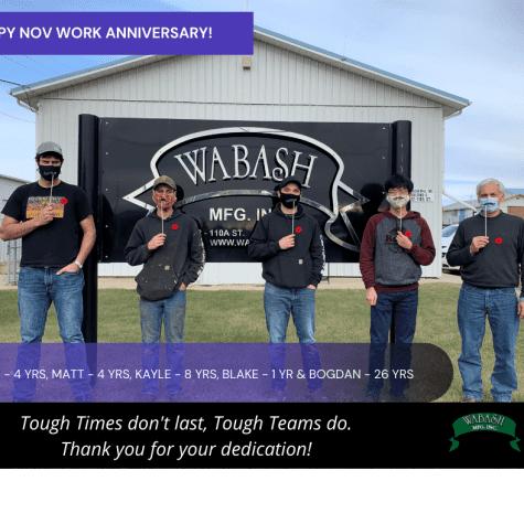 Nov work anniversary!